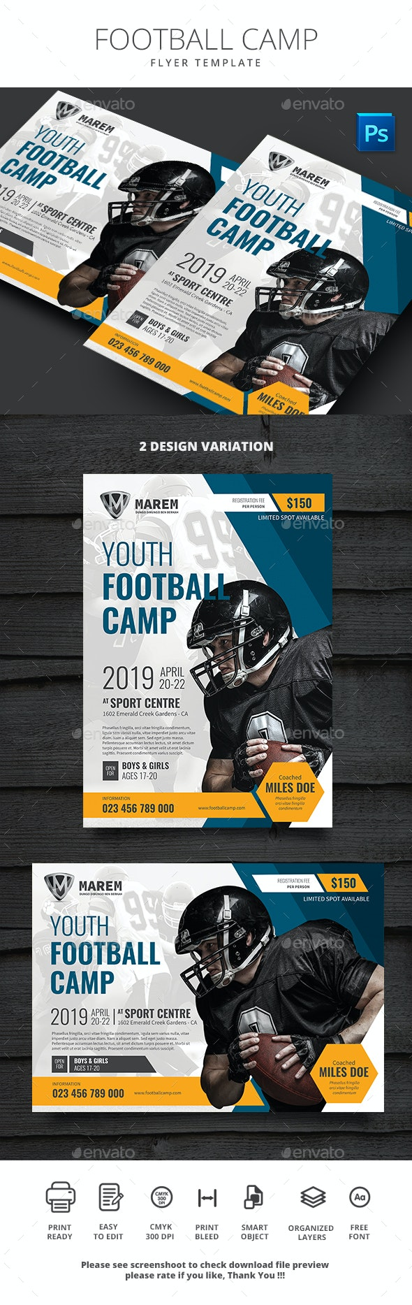 Football Camp - Sports Events