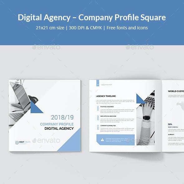 Digital Agency – Company Profile Square