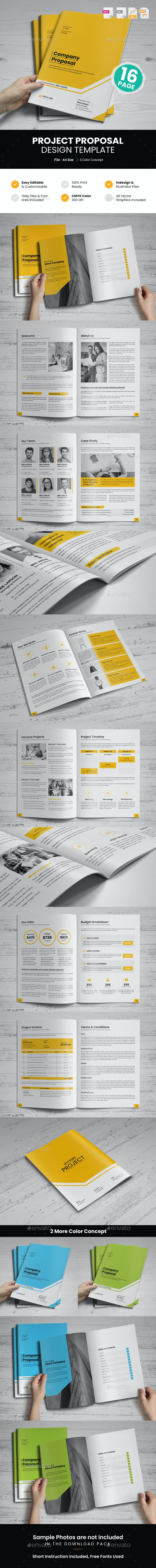 Project Proposal Design v2 - Proposals & Invoices Stationery