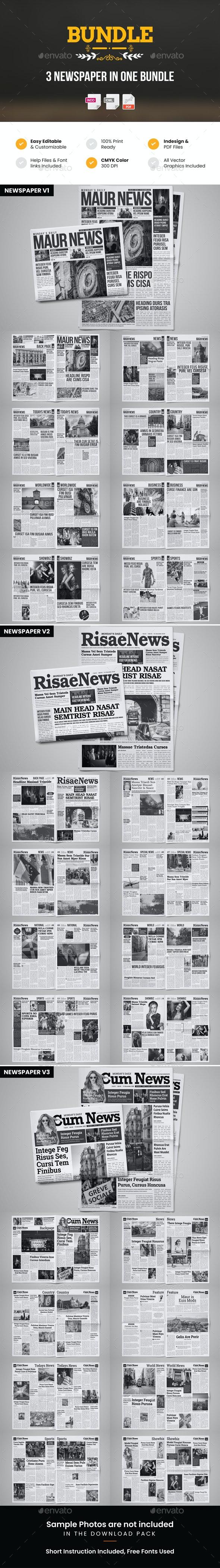 Newspaper Design Bundle