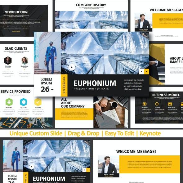 Euphonium Keynote Templates
