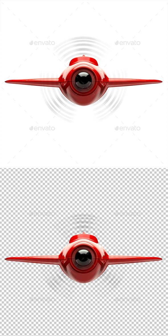 Airplane - Objects 3D Renders