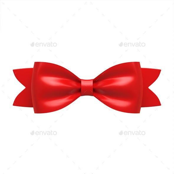 Ribbon Gift Bow