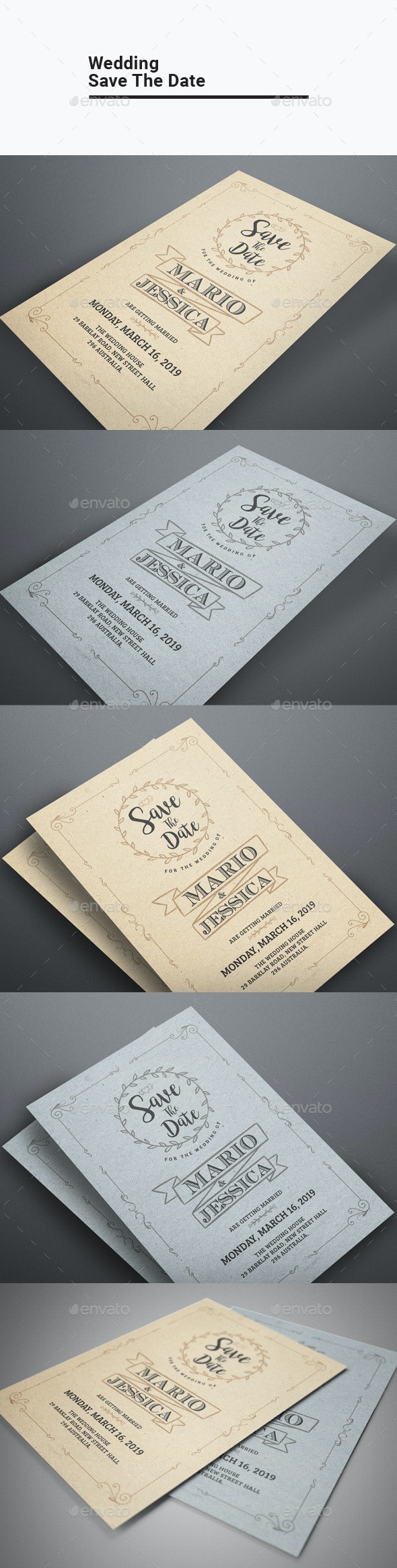 Wedding Save The Date - Invitations Cards & Invites