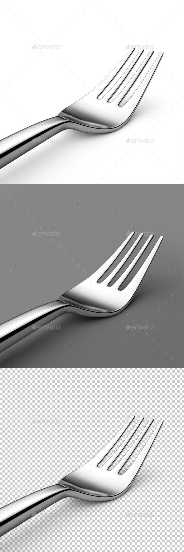 Fork - Objects 3D Renders