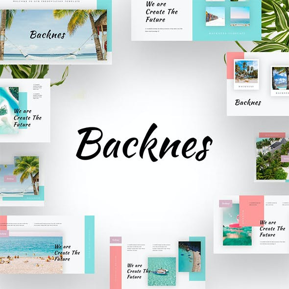 Backness - Beach Summer Google Slides Templates