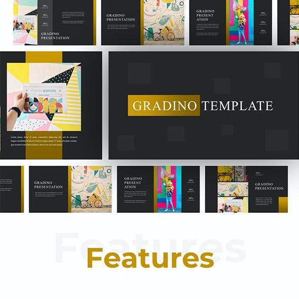 Gradiano - Colorful Google Slides Templates