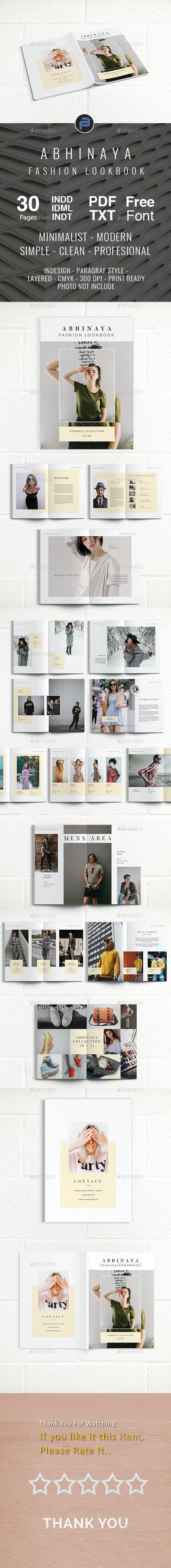 ABHINAYA FASHION LOOKBOOK - Portfolio Brochures