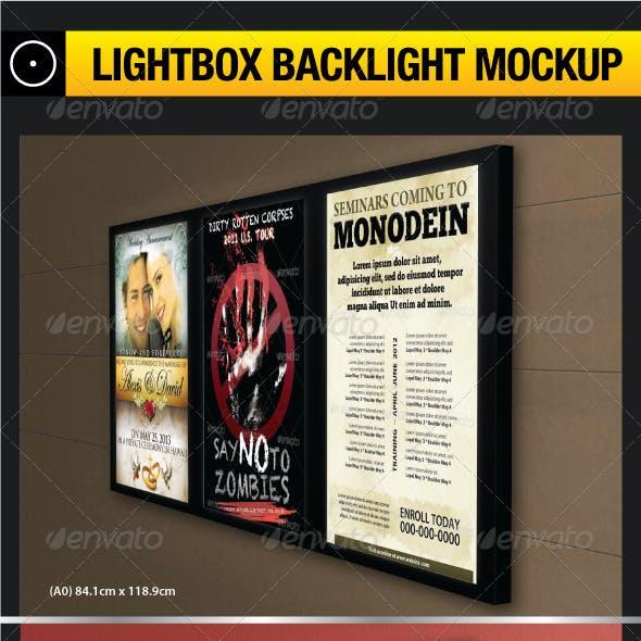 Lightbox Backlight Mockup