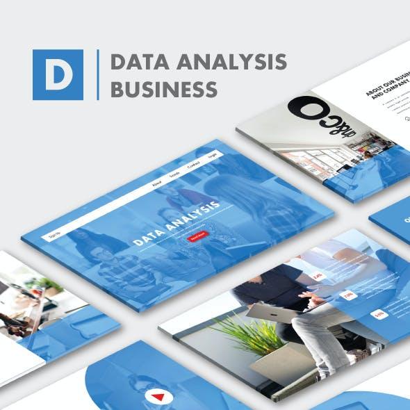 Data Analysis Business PowerPoint Templates