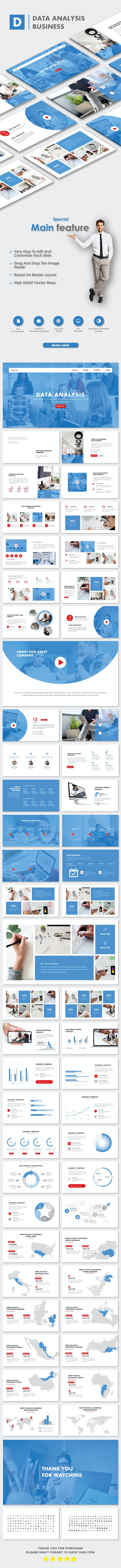 Data Analysis Business PowerPoint Templates - Business PowerPoint Templates