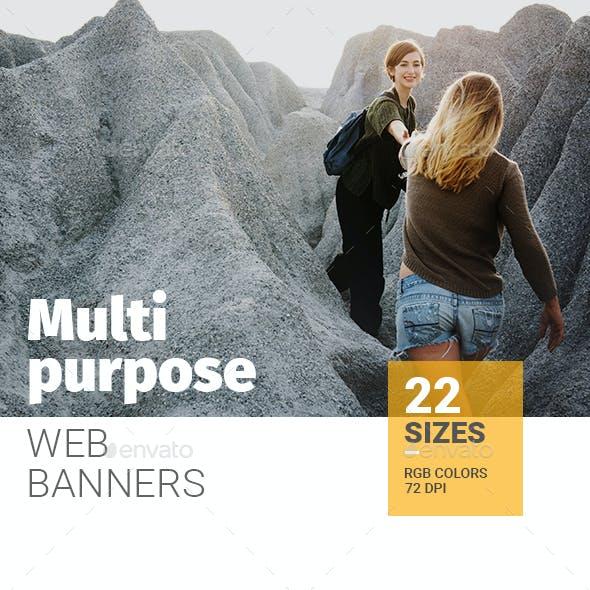 Multipurpose Web Banners