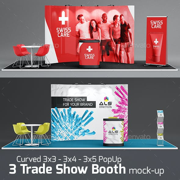Trade-Show-Booth-Mock-up Bundle