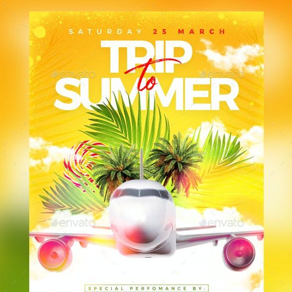Trip To Summer Flyer