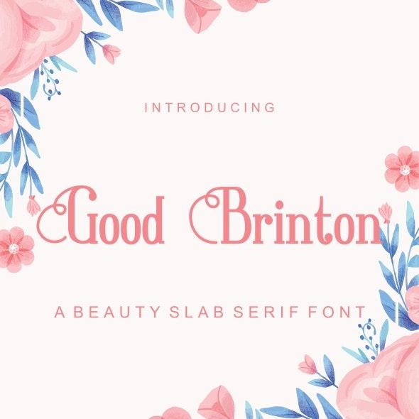 Good Brington - Serif Fonts
