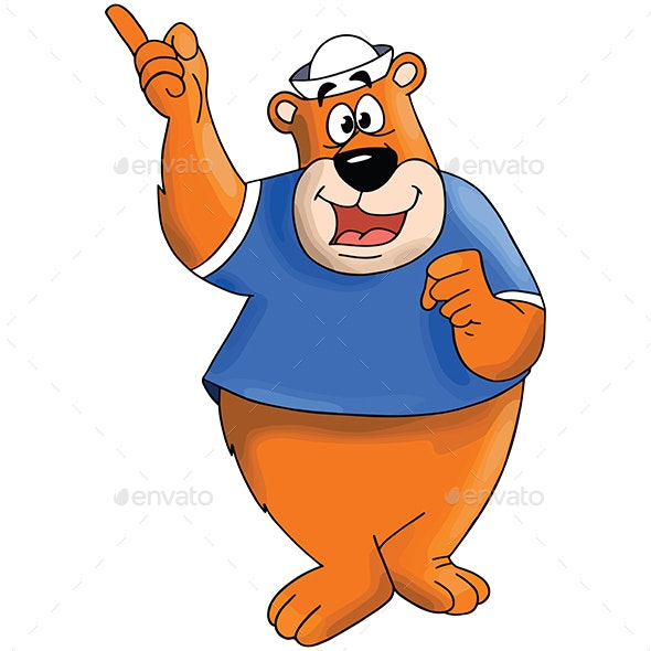 Cartoon Bear - Animals Characters