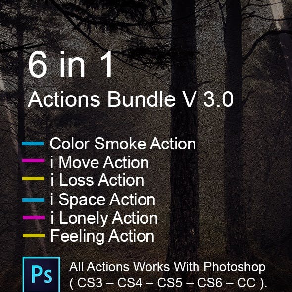 6 in 1 Actions Bundle V 3.0