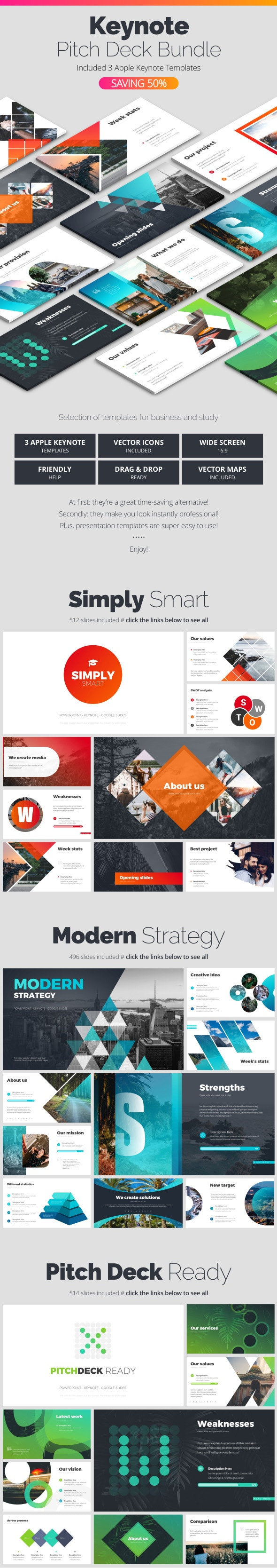 Keynote Bundle - Business Keynote Templates