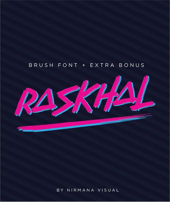 Raskhal - Handwriting Fonts