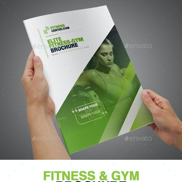 Fitness & Gym Brochure