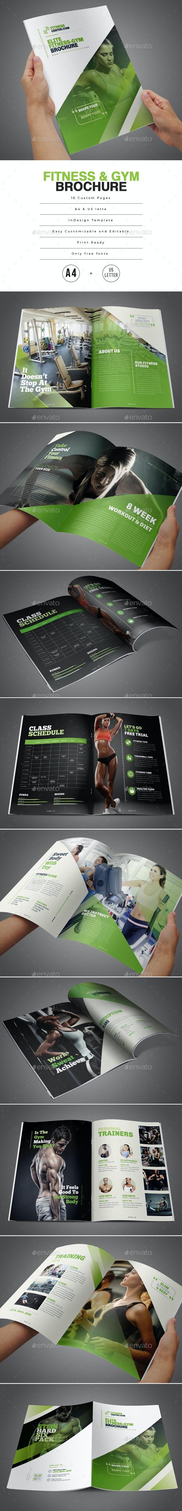 Fitness & Gym Brochure - Corporate Brochures