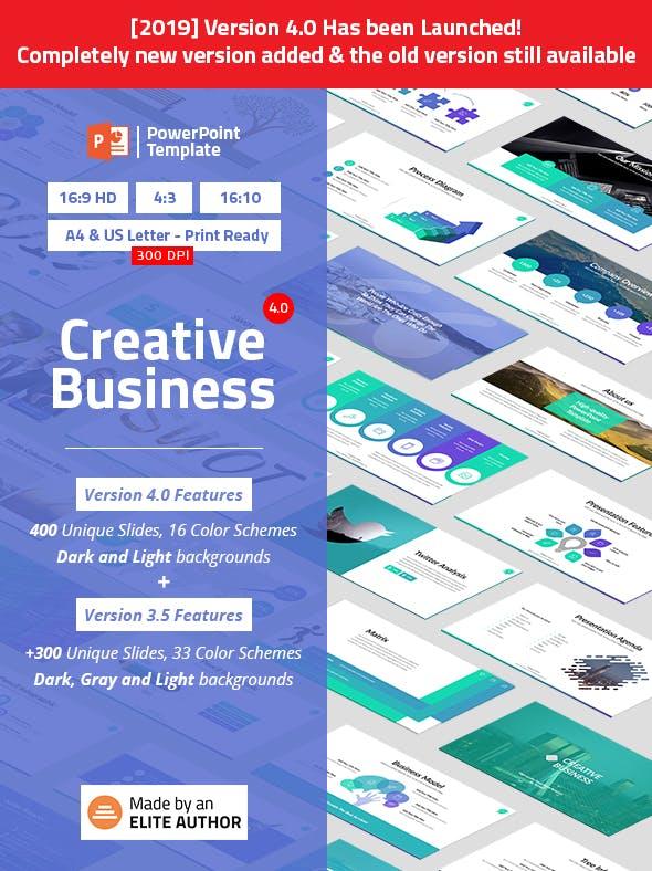 Creative Business Powerpoint Presentation Template By Spriteit