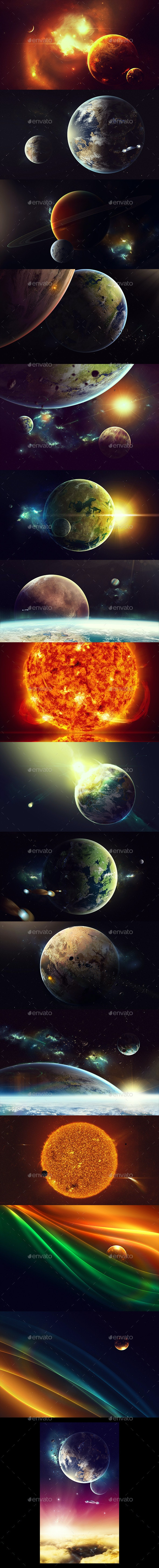Space Art Backgrounds - Miscellaneous Backgrounds