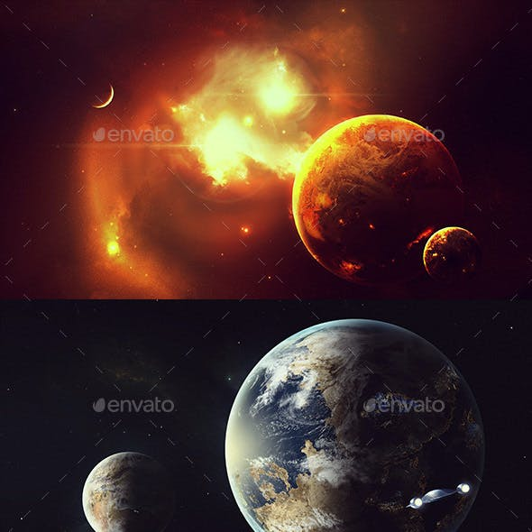 Space Art Backgrounds
