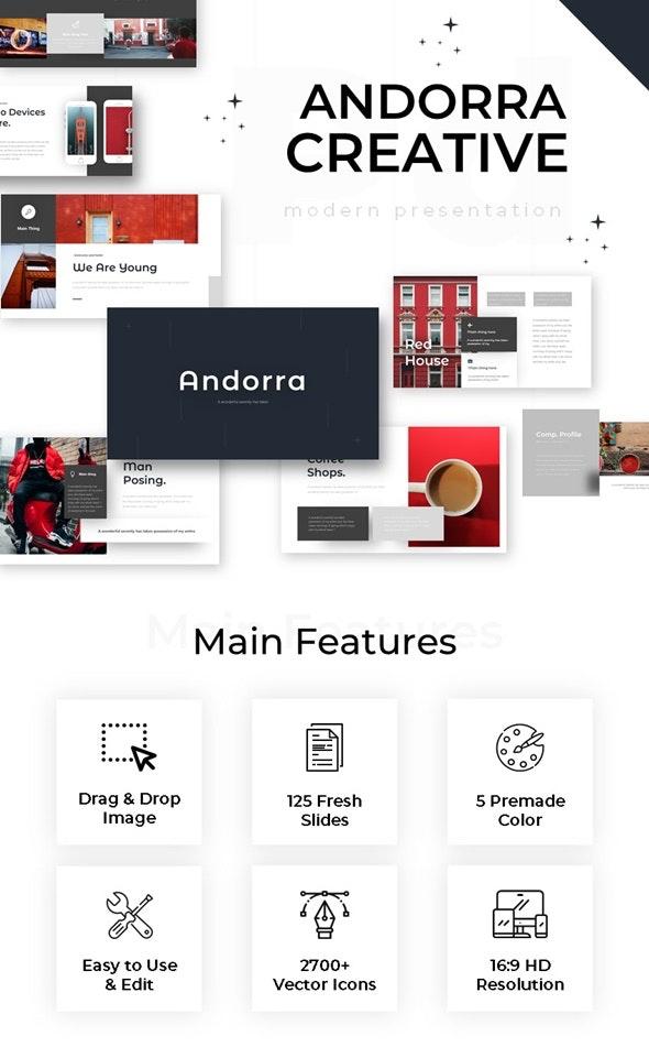 Andora Creative Powerpoint - Business PowerPoint Templates