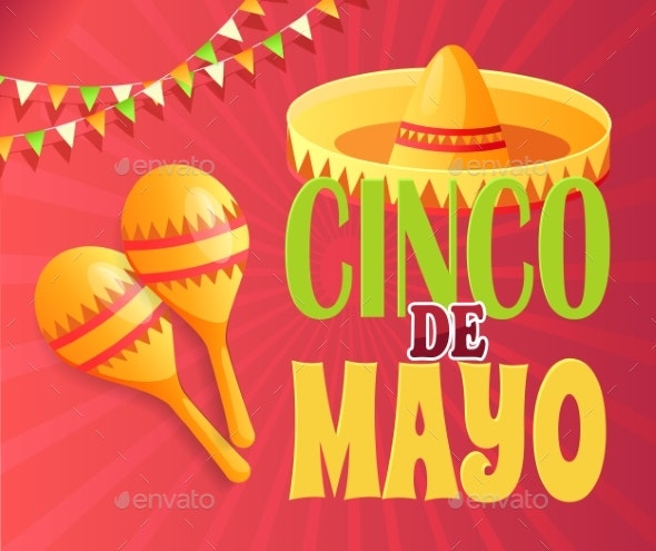 Cinco De Mayo Party Invitation Poster - Miscellaneous Seasons/Holidays