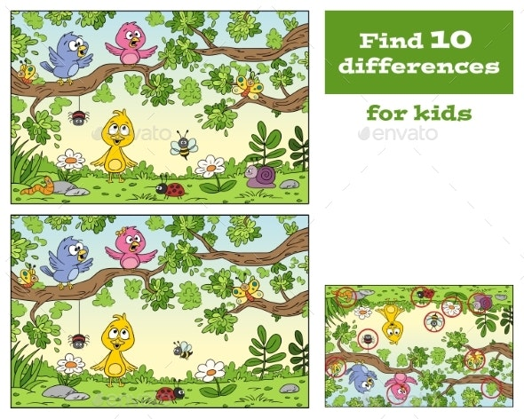 Game For Kids - Animals Characters