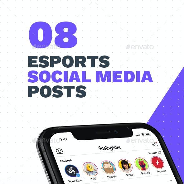 8 eSports Posts for Social Media