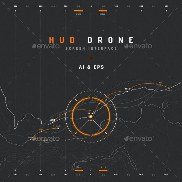 HUD Drone Interface