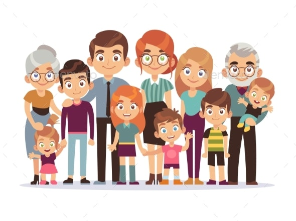 Family Portrait - People Characters