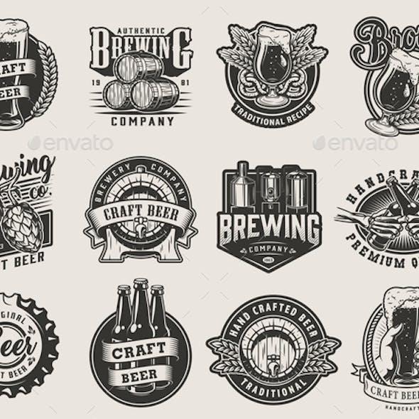 Vintage Beer Designs
