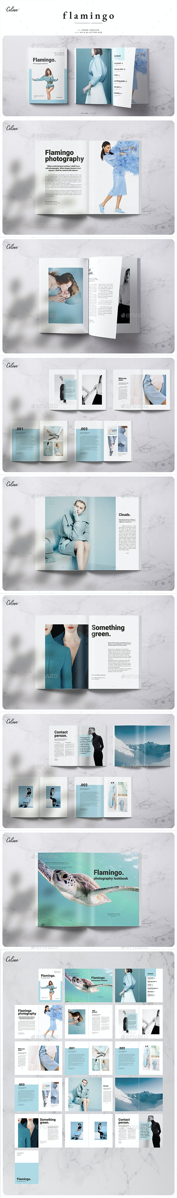 Photography Lookbook - Brochures Print Templates
