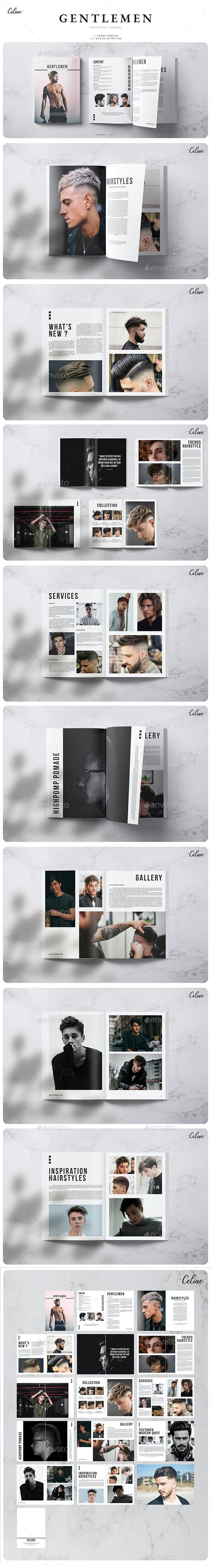 Branding Lookbook - Brochures Print Templates