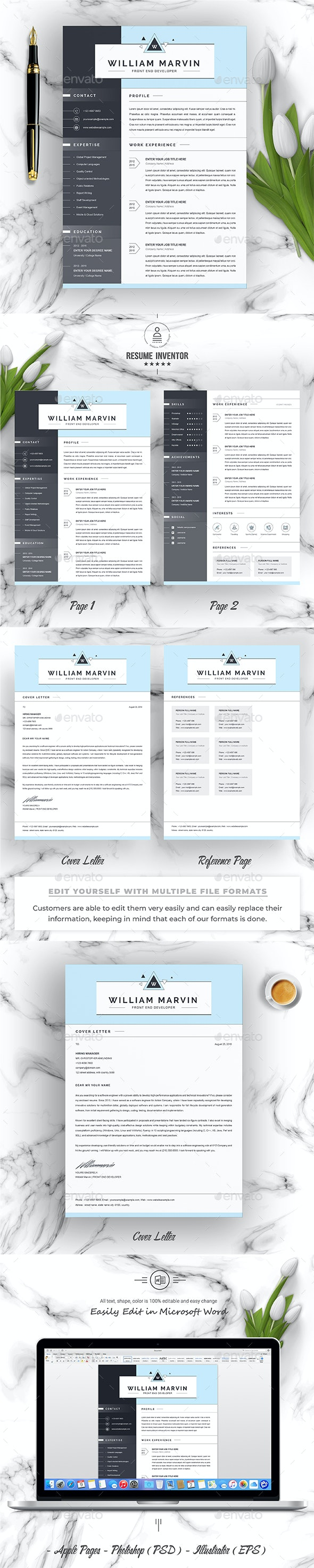 Resume Template - Resumes Stationery