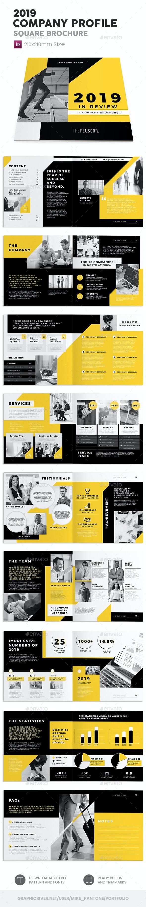 Company Profile 2019 – Square Brochure - Corporate Brochures