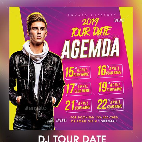 DJ Tour Date