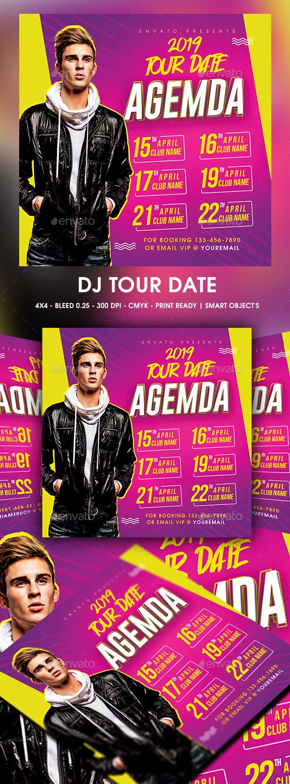 DJ Tour Date - Clubs & Parties Events