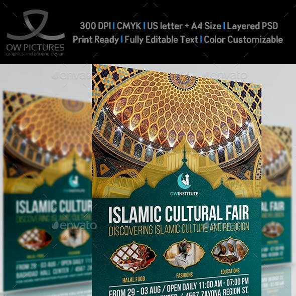 Islamic Flyer Template Vol.4