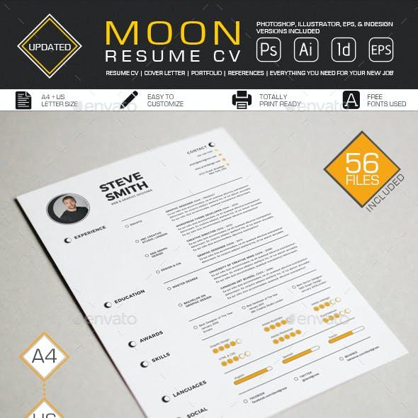 Resume/CV - Moon