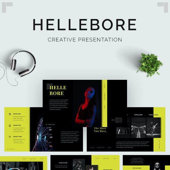 Hellebore - Creative PowerPoint Template
