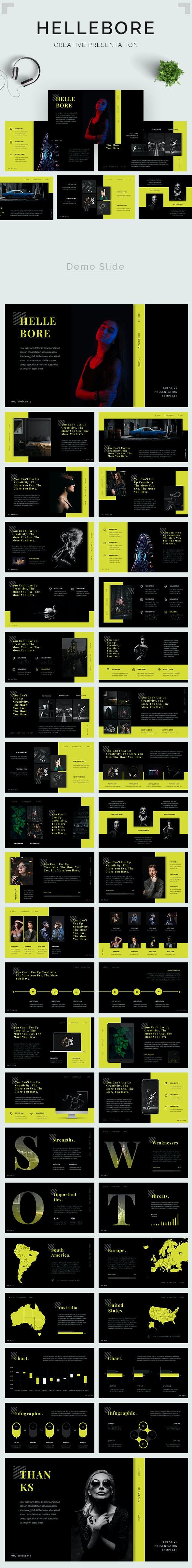 Hellebore - Creative PowerPoint Template - Creative PowerPoint Templates