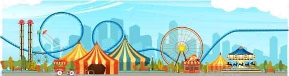 Amusement Park Circus