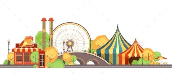 Carnival City Park - Landscapes Nature