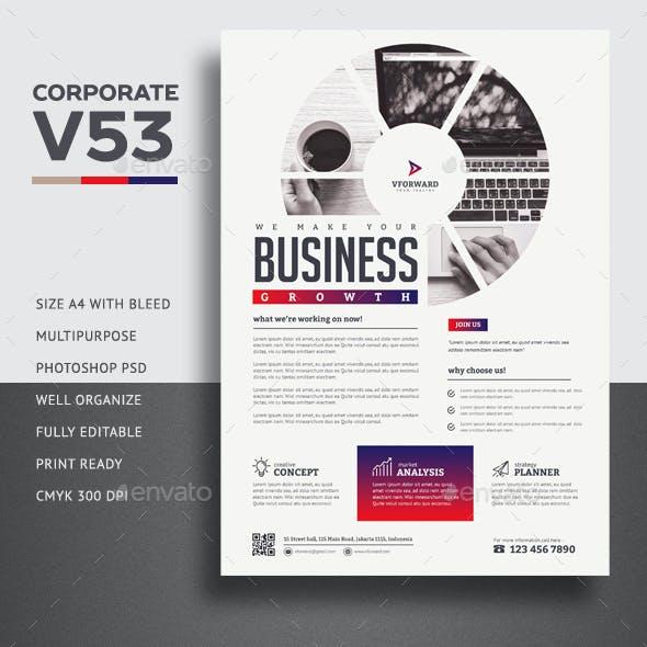 Corporate V53 Flyer
