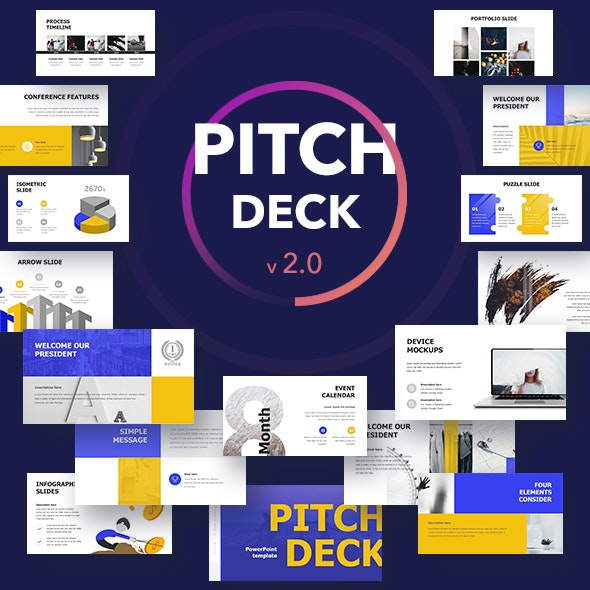 Pitch Deck Keynote - Business Keynote Templates