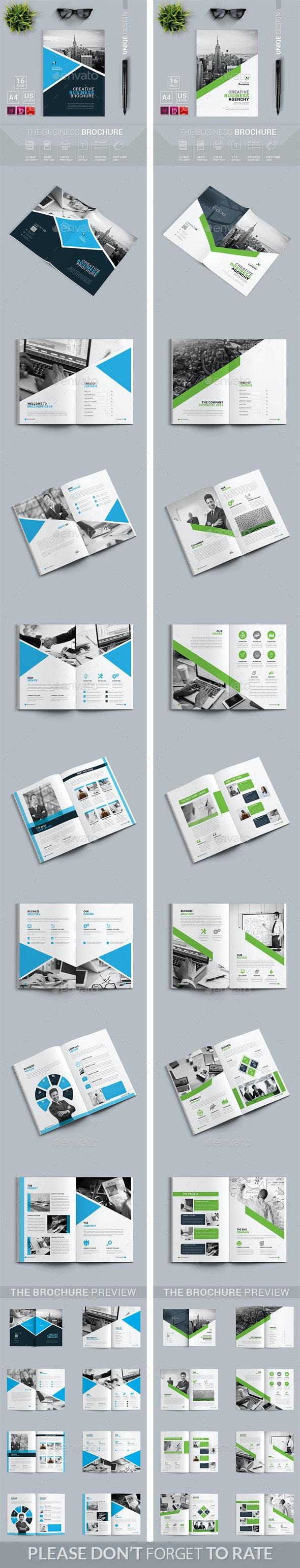 Brochure Bundle 2 in 1 - Brochures Print Templates